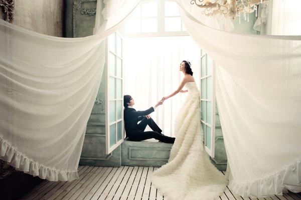 穆斯之恋:蔓纱柔情的韩式实景摄影棚