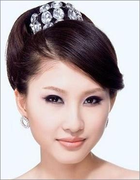 90后新娘最爱的时尚新娘发型(2)