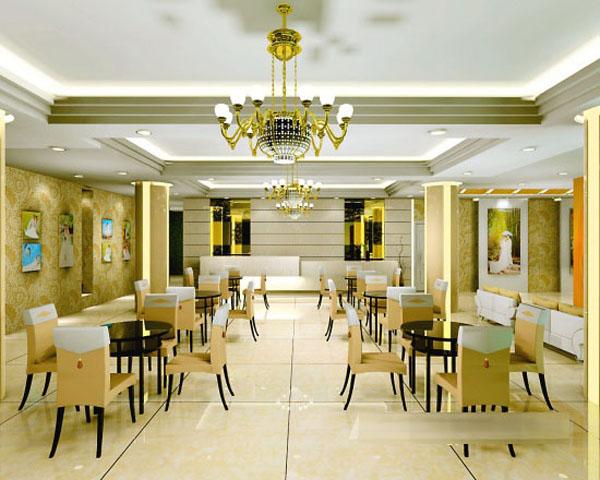 设计师/设计公司: seven design   项目名称:罗马经典婚纱影楼   一、功能:接待,休息,化妆,婚纱展示一体   二、氛围:欧式奢华的装修设计空间,体现优雅中的完美与舒适   三、灯光:具大的吊灯池成为本次设计的亮点   四、设计背景:别具特色的风格,欧式与现代风的结合,色彩选择沉稳色系