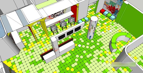 儿童娱乐空间装修设计:多元化的商业模式