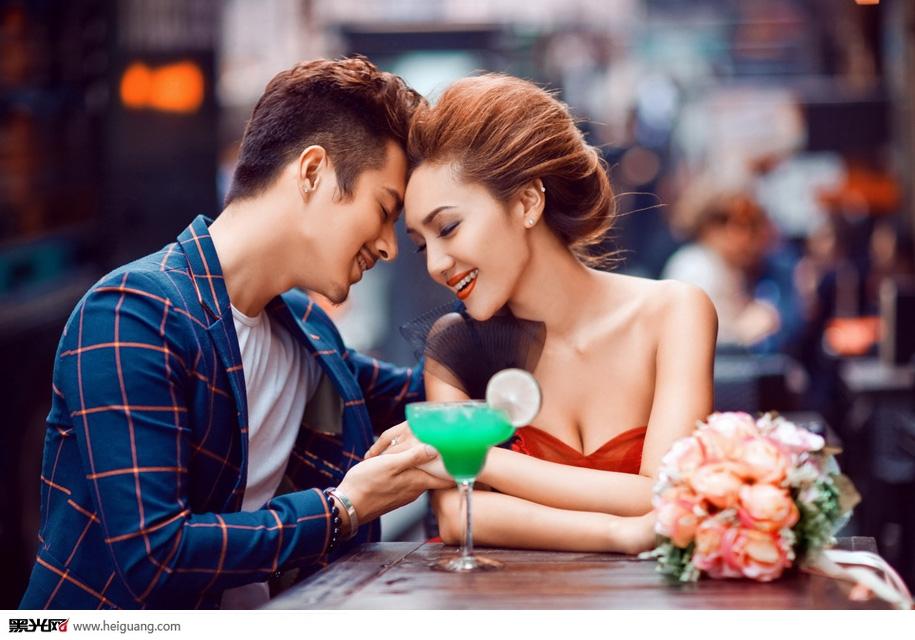 街角的咖啡馆_婚纱摄影_黑光图库_黑光网