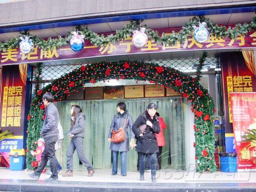 圣诞节的橱窗设计:浓重欢快的节日氛围(4)