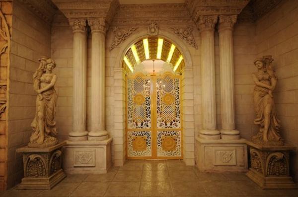 欧式风情圣罗兰实景摄影宫殿(7)图片