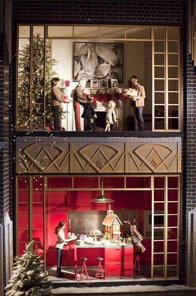 创意圣诞节橱窗设计,提高你的进店率(7)