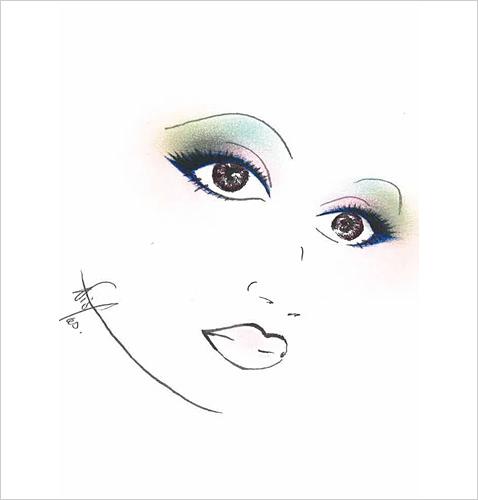 彩妆新趋势打造新娘魅力妆容(4)