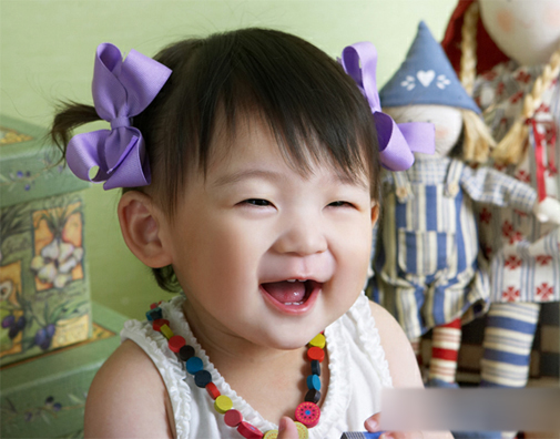 儿童摄影教程:微笑吧,心中的天使(4)