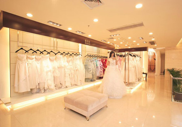 永恒婚纱摄影装修设计:优雅大气的时尚空间(4)