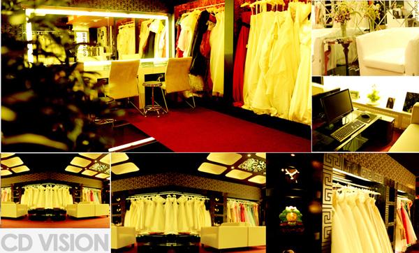 cd视觉婚纱摄影 奢华品尚的装修设计风格