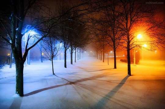 冬日雪景拍摄经典教程