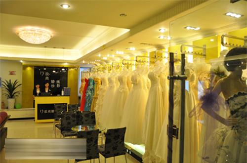 欧尚婚纱摄影,店面形象设计展示图片