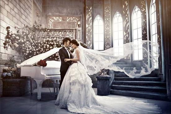 盐城市区婚纱摄影_...墅区婚礼 德州城市花园婚纱摄影
