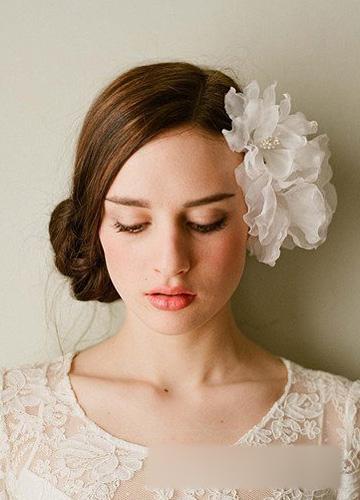 最新欧美风新娘发型流行趋势图片