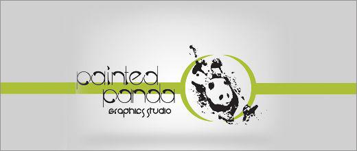 标志设计元素运用实例:熊猫