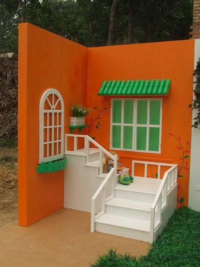 多彩小屋儿童实景影棚,还原温馨梦幻的童话世界