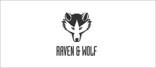 标志设计元素运用实例:狼