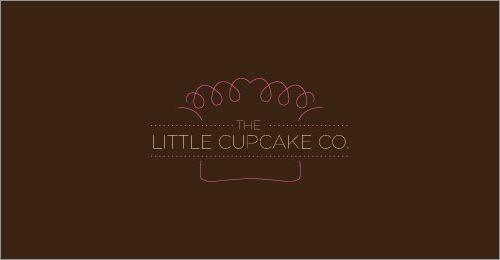 标志设计元素运用实例:杯形蛋糕和甜甜圈