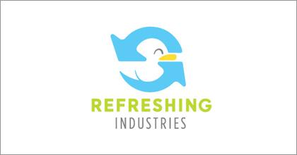 标志设计元素运用实例:鸭子