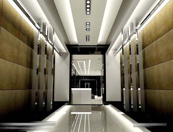 北风情国际婚纱摄影,动线质感影楼装修设计