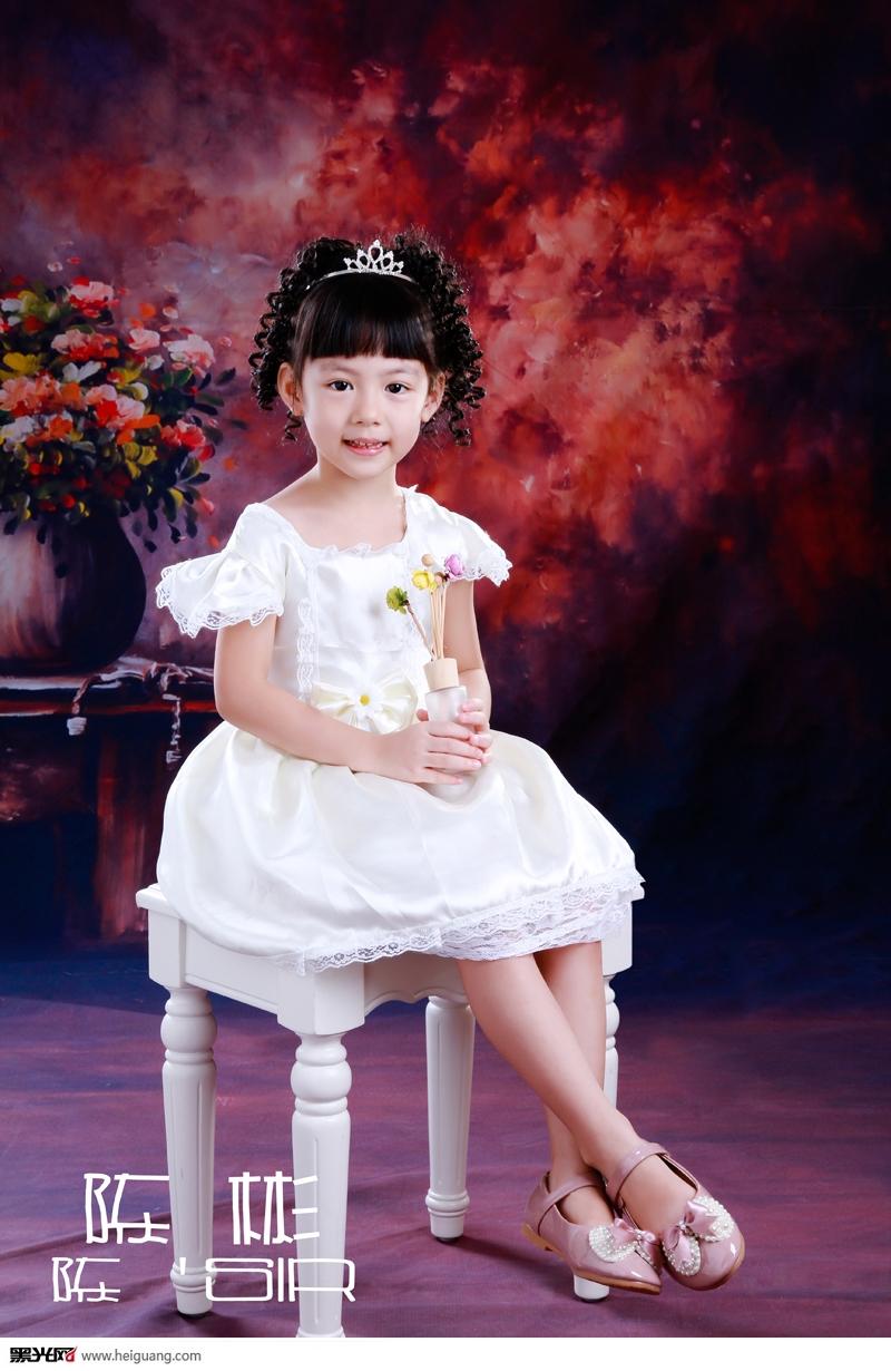 白雪公主 儿童摄影