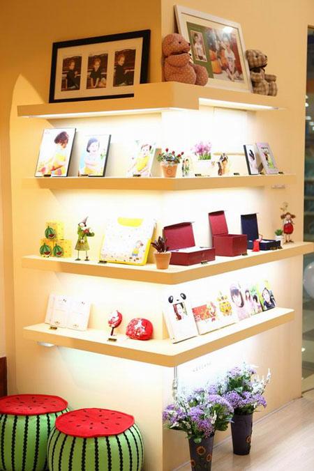西瓜庄园儿童摄影门店装修设计展示:杭州西湖店