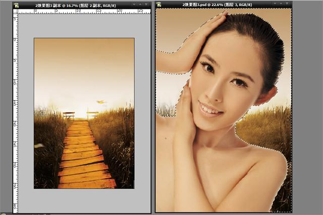 PS调出商业图片质感古铜色妆容效果详细教程
