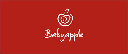 标志设计元素运用实例:苹果