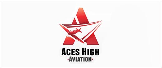 标志设计元素运用实例:飞机(2)