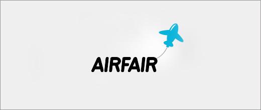 标志设计元素运用实例:飞机