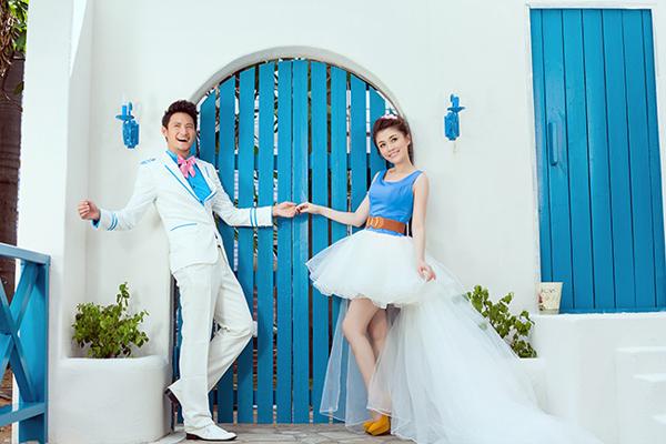 三亚婚纱照; 三亚拓璞柯摄影机构; 名称:地中海风情