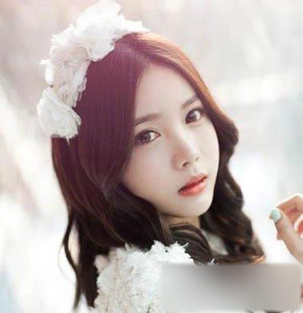 清新脱俗韩式新娘发型 打造新娘不染浮尘的极致美丽