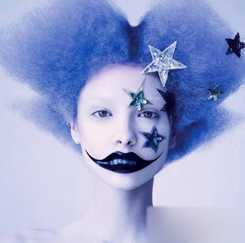 猎奇小丑 超奇幻个性彩妆大片赏析