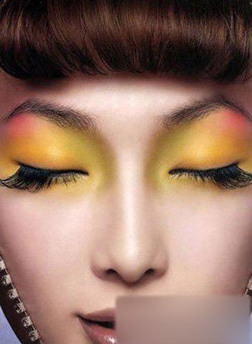 """渐变色调创意眼妆 灵动双眸让你""""大开眼界""""图片"""