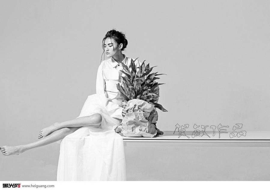 婚纱照欧美 黑白大片
