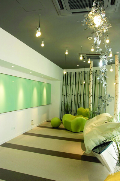 创意个性的工作室装修设计,回归自然的室外桃源