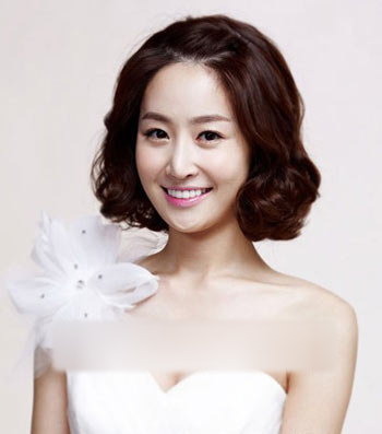 2013最新韩国时尚优雅新娘发型