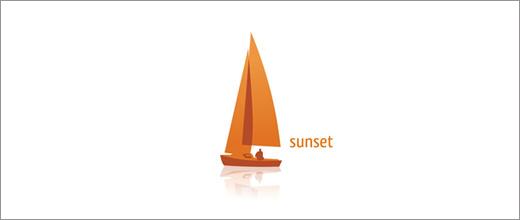 标志设计元素运用实例:船