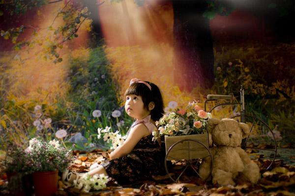 可可花园:梦幻田园中的森林王国儿童实景(2)图片
