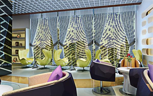 影楼vip室休息室装修设计方案:轻松舒缓的空间