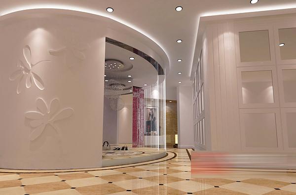 魏县鲁冰花影楼 现代感欧式风情装修设计