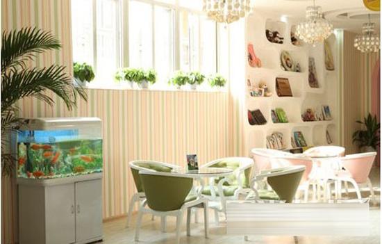 鄭州愛迷尼 兒童攝影,舒適,溫馨的 裝修設計環境,擁有上千平方米接待