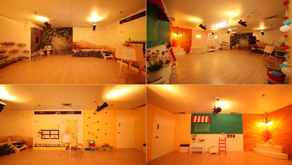 珠海**天使儿童摄影,店面装修设计效果图