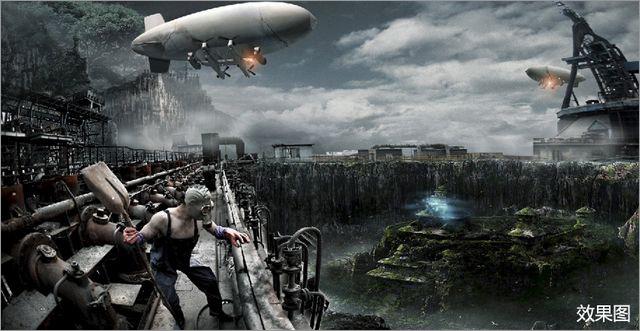 游戏科幻背景素材