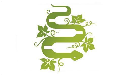 標志設計元素運用實例:蛇