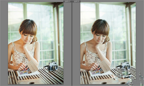 raw档拍摄人像写真 后期修图步骤范例