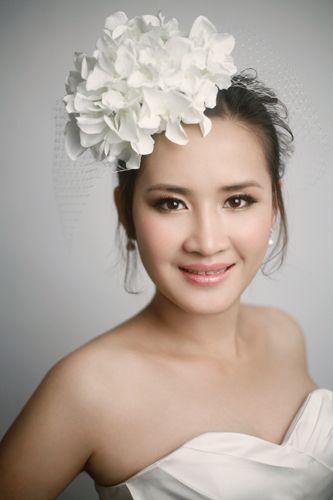 【米兰婚纱】韩式自然妆容打造唯美新娘图片