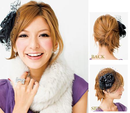最美新娘 可爱日式新娘发型步骤详解