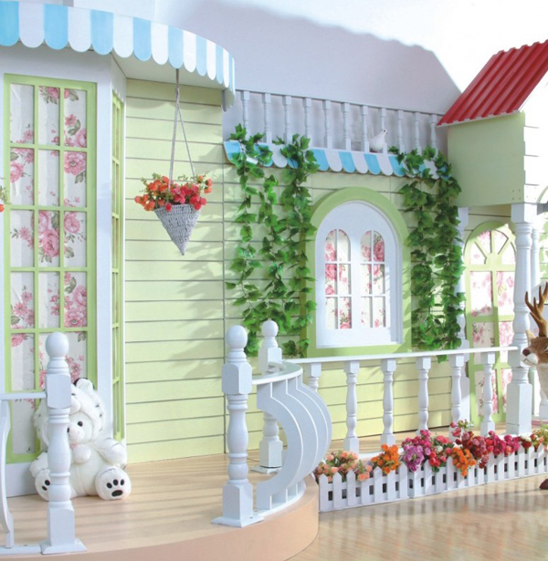山西天使映像儿童影楼:灵活的色彩装修设计