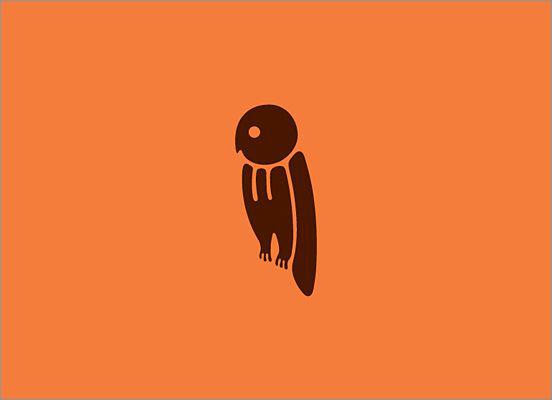 dan fleming形象可爱的动物标志设计