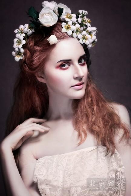 外模展示新娘彩妆造型