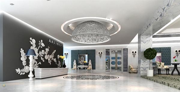 茜茜公主婚纱影楼:现代欧式装修设计透露的优雅与